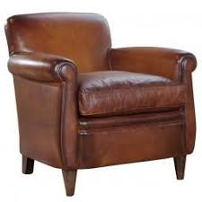 Leather Armchair Alfred Leather Armchair