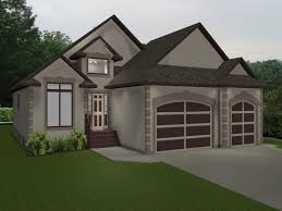 House Plans With Garage 3 Bedroom Bungalow House Plan With Garage Two Story Plans Car Pe