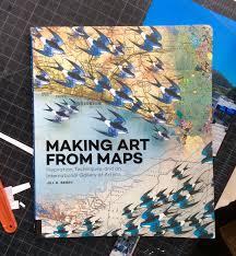 Map Book Tofu U0027s Art Blog Making Art From Maps