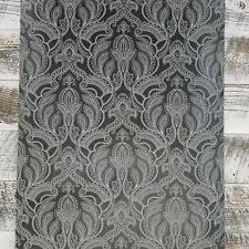 debona marrakesh white u0026 grey damask wallpaper 2318 ebay