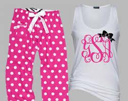 patriotic pajamas monogrammed 4th of july fourth pj set