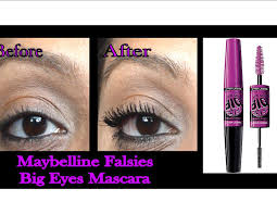 maybelline volume express falsies big mascara review and demo
