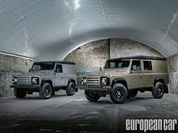 land rover skyfall land rover u0027s defender gets even more rugged web exclusive