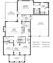 Custom Home Floorplans by Four Bedroom House Plans By Rosewood Home Builders Custom House