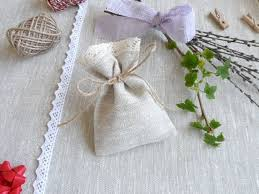 lace favor bags lace favor bags 40 small gift bags linen bags lace bags