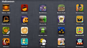 monster list of halloween appdapted halloween themed apps