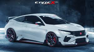 2001 honda civic type r civic coupe concept gets type r render