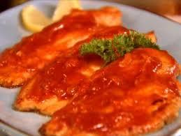 Catfish Dinner Ideas Saucy Catfish Recipe Trisha Yearwood Food Network