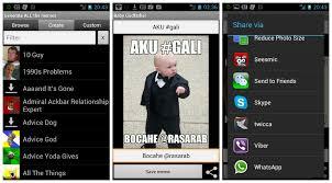Cara Membuat Meme - daftar aplikasi android untuk membuat meme comic