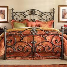 bed frames california king metal headboard and footboard king