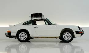 white porsche truck this vintage porsche 911 rally car is being auctioned off for a