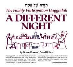 a family haggadah a different the family participation haggadah by david dishon