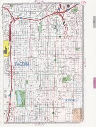 Washing State Map by Tacoma Wa Road Map
