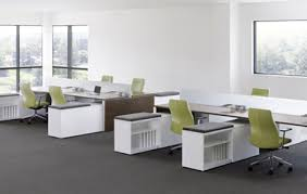 Work Spaces Without Walls For Better Collaboration Work Spaces - Open office furniture