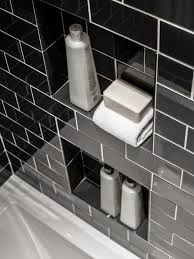Bathroom Shower Storage Ideas 5 Tub And Shower Storage Tips Hgtv