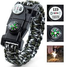 bracelet survival kit images Easymoo paracord bracelet survival bracelet outdoors survival with jpg