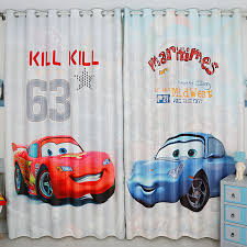 chambre mcqueen boys cars children curtains for living room modern bedroom