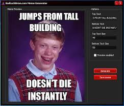 Bad Luck Brian Meme Maker - bad luck brian meme maker 66 images when meme stars meet imgflip