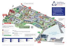 Canterbury England Map by Cccu Blogs