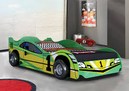 green children u0027s racing car bedroom furniture with mattress and