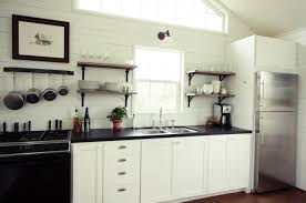 Low Cost Kitchen Design Small Space Living A Low Cost Cabin Kitchen For A Family Of Five