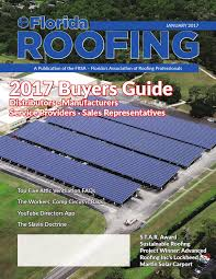 florida roofing magazine january 2017 by florida roofing