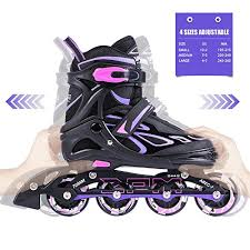 light up inline skates 2pm sports vinal girls adjustable flashing inline skates all wheels