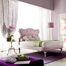italian designer pink button upholstered single luxury bed