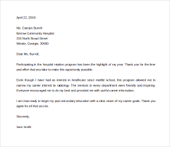 sample thank you letter to mentor 11 download free documents in