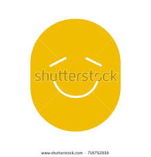 good mood colors happy funny smile glyph color icon stock vector 716752816