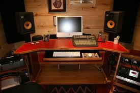 Studio Desk Diy Do It Yourself Recording Studio Ideas Home Remodeling