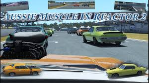 Australian Muscle Cars - new aussie muscle cars in rfactor 2 youtube