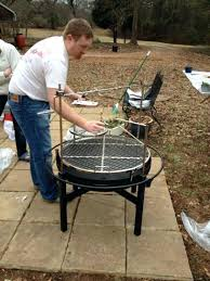 Cowboy Firepit Cowboy Cookers Pits Cowboy In Charcoal Grill And Pit At