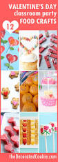 a roundup of 12 valentine u0027s day classroom party food crafts