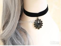 diy pendant choker necklace images 2018 gothic diy vintage women lace choker necklaces fashion false jpg
