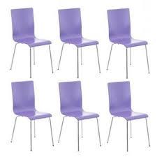 chaise violette lot de 6 chaise violette achat vente pas cher
