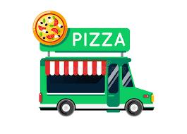 camion cuisine mobile voiture de ville de camion de nourriture de pizza camion de