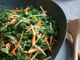 kale salad with root vegetables and apple recipe marcus