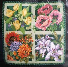 bucilla flowers plants needlepoint kits ebay