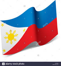 Filipino Flag Colors Philippines Stock Vector Images Alamy