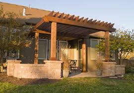 Exterior Design Captivating Rustic Pergola Design For Garden - Backyard arbor design ideas