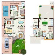 Architectural Design Of 1 Kanal House Khayaban E Amin Lahore Plot Prices Maps Houses