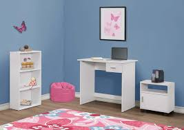 printer computer desk kmart com pcs set white bookcase cart arafen