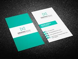 business card clean business card template best for personal