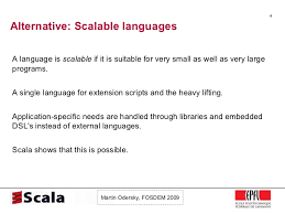 Not Since The Accident Meme - scala talk at fosdem 2009