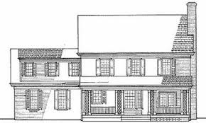 colonial home plans colonial home plan 32563wp architectural designs