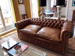 Chesterfield Sofa Bed Uk by Chesterfield Sofa 2 5 Tan Leather In South Kensington London
