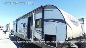 Wildwood Rv Floor Plans by Forest River Wildwood 28ckds Youtube