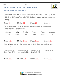 mean median mode worksheets with answers add and subtract worksheets