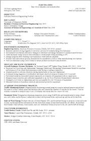 Resume Of An Electrician Resume Examples Umd